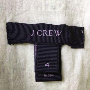 J. Crew Dresses - J CREW Eyelet Shirt Dress Button Lime Green Size 4